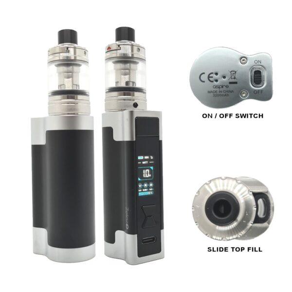 Aspire Zelo 3 Kit Black