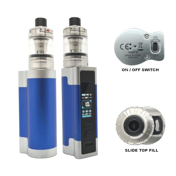 Aspire Zelo 3 Kit Blue