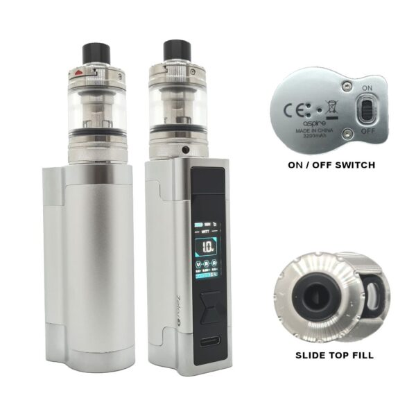 Aspire Zelo 3 Kit Silver