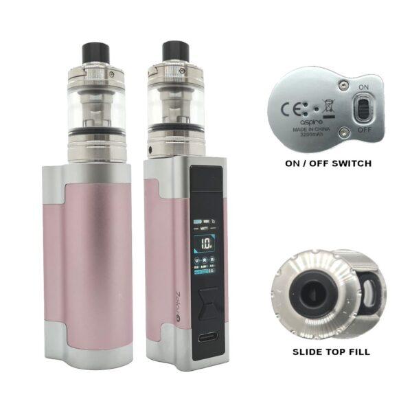 Aspire Zelo 3 Kit Pink