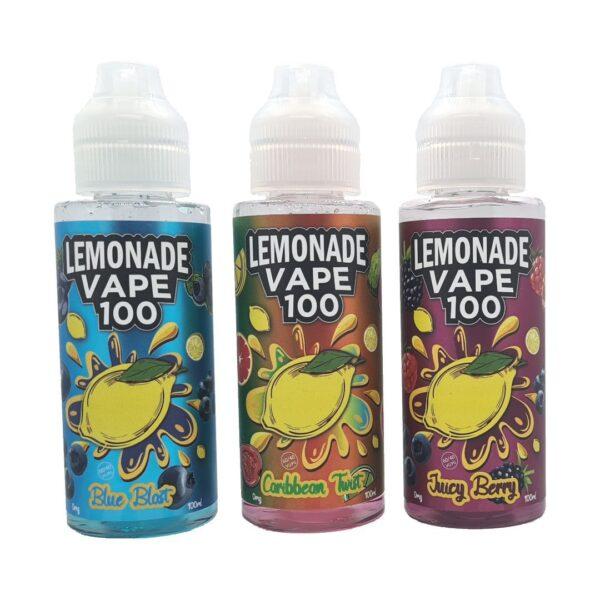 Lemonade Vape 100ml Shortfill