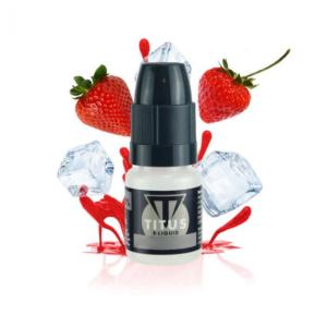 Strawberry Ice - TECC Titus ADV 10ml E liquid